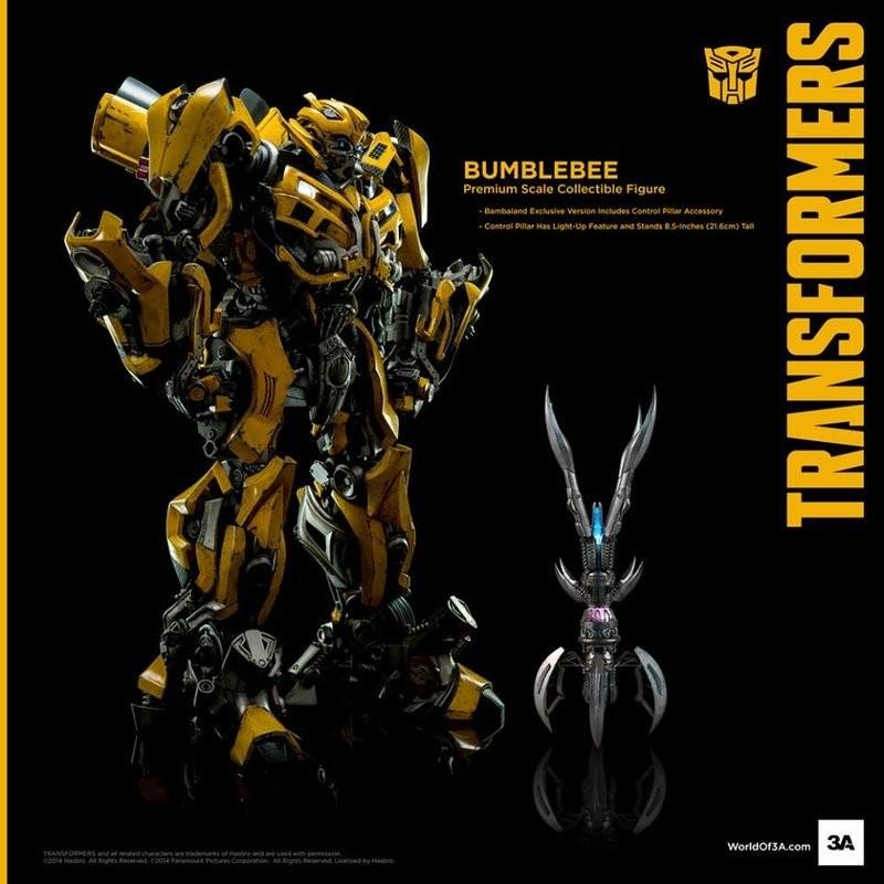 【玩具聯盟S☆】【現貨免運】ThreeA 3A 變形金鋼 限定版 大黃蜂 就是照片這麼帥 變形金剛 密卡登 柯博文