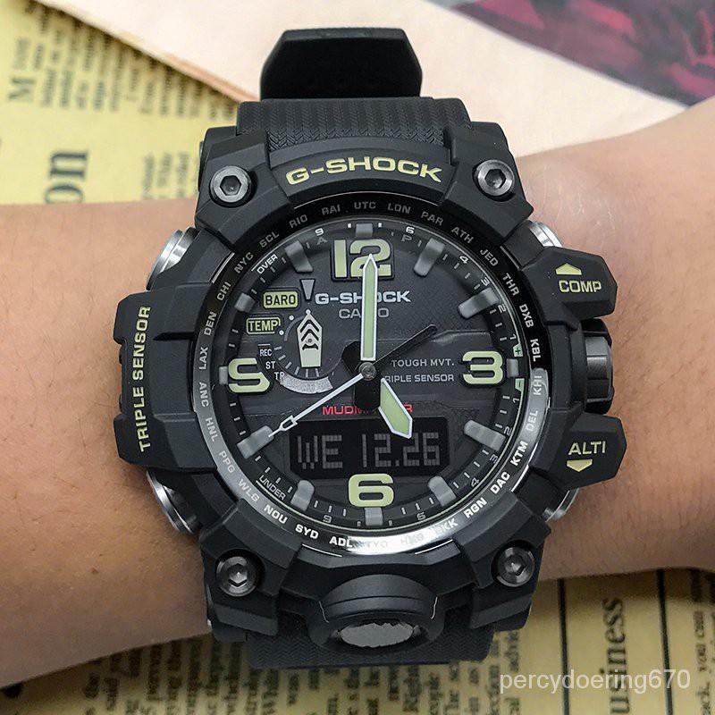 卡西歐手錶 原產 GWG-1000-1A/1A3/1A1PR/GB-1A 電波男錶泥王