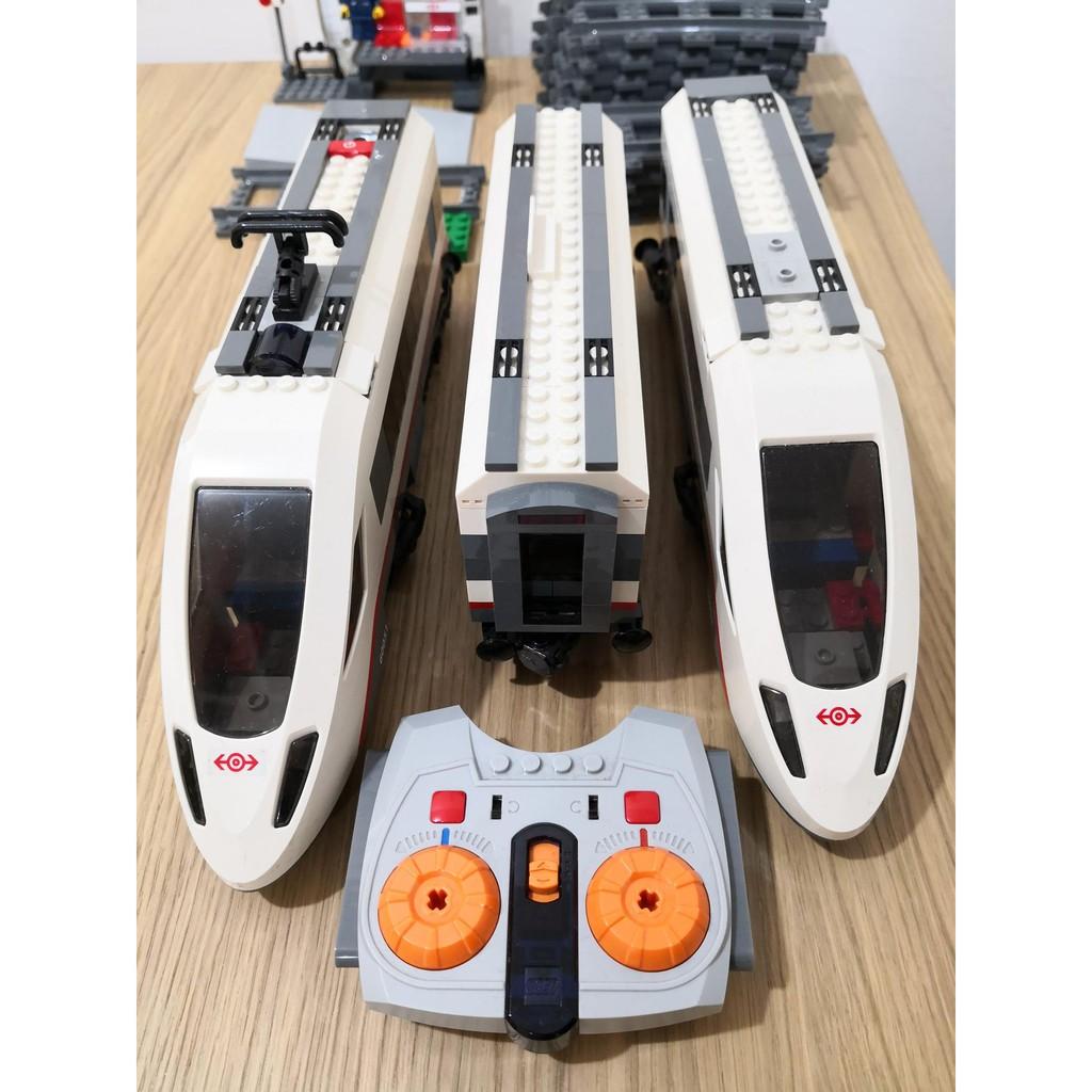 買4送1 樂高火車 正版 60051 功能正常 如影片 外盒保存良好 二手 已絕版