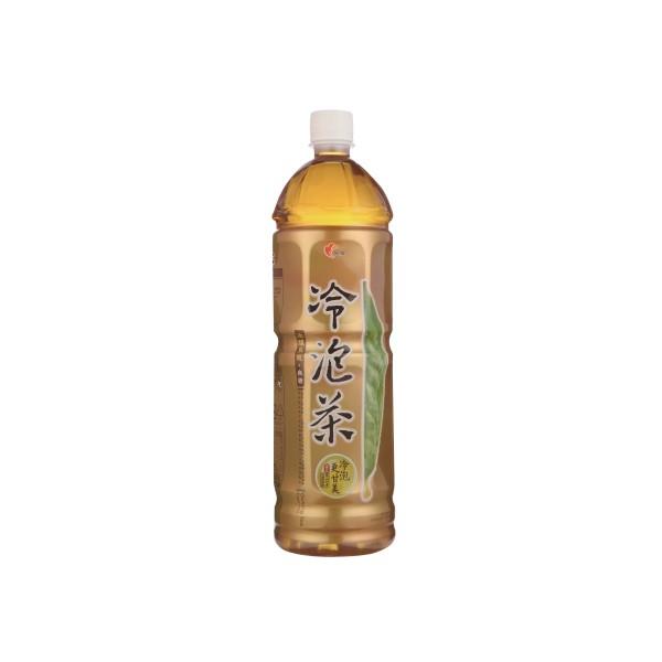 光泉冷泡茶-冰釀烏龍(無糖) 1235ml  【大潤發】