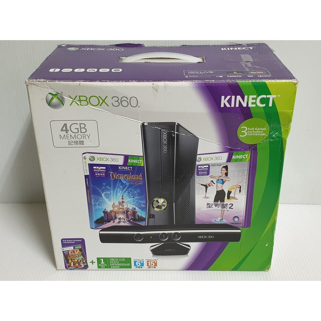 {哈帝電玩}~XBOX360 遊戲主機 Slim薄機 4G 無改機拆機維修紀錄 無KINECT 功能正常良好~