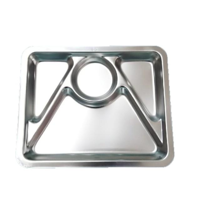 🐘我們這一家用品🐘台灣製 蝴蝶牌 304不鏽鋼 四格餐盤 多格餐盤 環保餐具 不鏽鋼餐盤