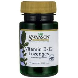 ♥♥健康博士 Swanson Vitamin B12 口含錠 B-12 1000mcg 100錠