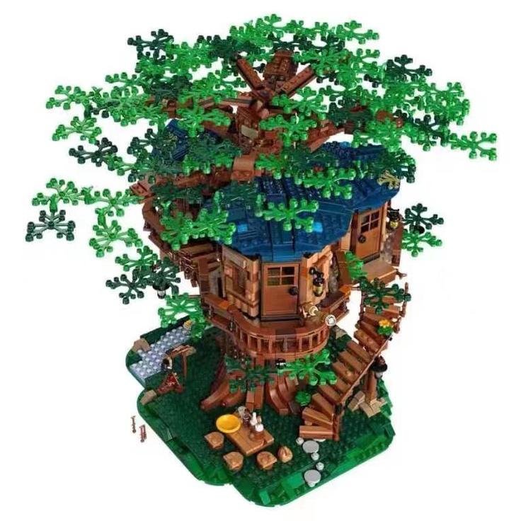 LEGO 21318樹屋 櫻花樹杈五瓣花MOC配件