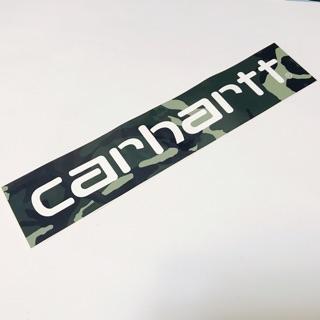 Carhartt 迷彩大Logo貼紙