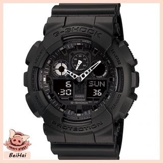 CASIO 卡西歐 G-SHOCK 情侶款 運動 機械 防水手錶 重機雙顯 耐衝擊構造手錶 GA-100-1A1 桃園市
