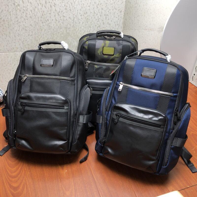 【包の范特西】TUMI 途米 232389NVY 彈道尼龍材質配真皮 15寸男士商務休閑電腦雙肩背包 大容量後背包 三色