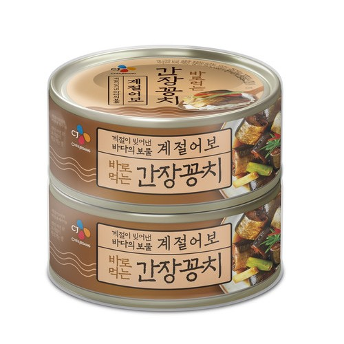[韓國直送]像在季節裡 即食 大醬秋刀魚 120G2