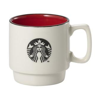 Starbucks 台灣星巴克 2015 女神logo 雙色北歐杯 紅 馬克杯 經典品牌 丸新窯 日本製 320ml