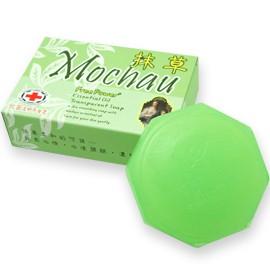 「現貨供應、可刷卡」芙玉寶 抹草/艾草抗菌透明平安香皂  浴用