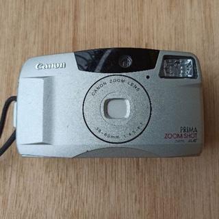 日本製 CANON PRIMA ZOOM SHOT 8成新.方便好用好攜帶.功能正常.38-60mm變焦鏡頭.附手繩皮套 臺南市