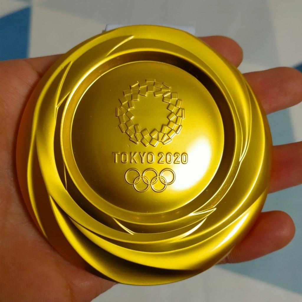 東京奧運會 紀念品 金牌 紀念幣 2020東京奧運會金牌復刻銀牌銅牌金屬製品紀念品