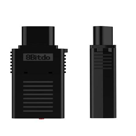 【台灣發貨-免運】八位堂8Bitdo RETRO RECEIVER NES藍牙無線手柄接收器 NES接收器
