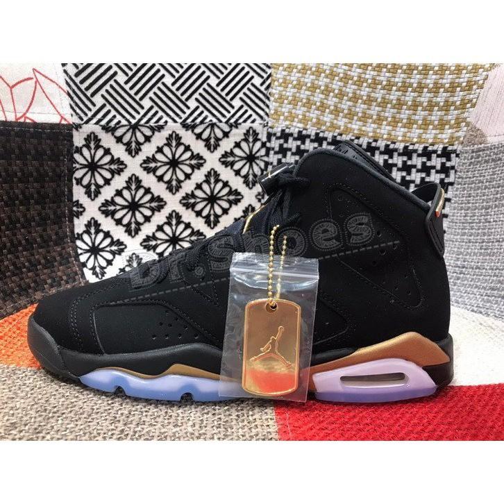 正品 Nike Air Jordan 6 Retro DMP GS 黑金 籃球潮鞋 CT4964-007