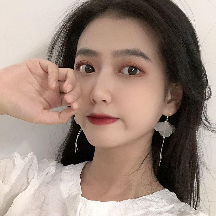 【現貨】【免運】925銀永生花瓣耳環韓國氣質2020年新款潮耳飾無耳洞耳夾女超仙氣