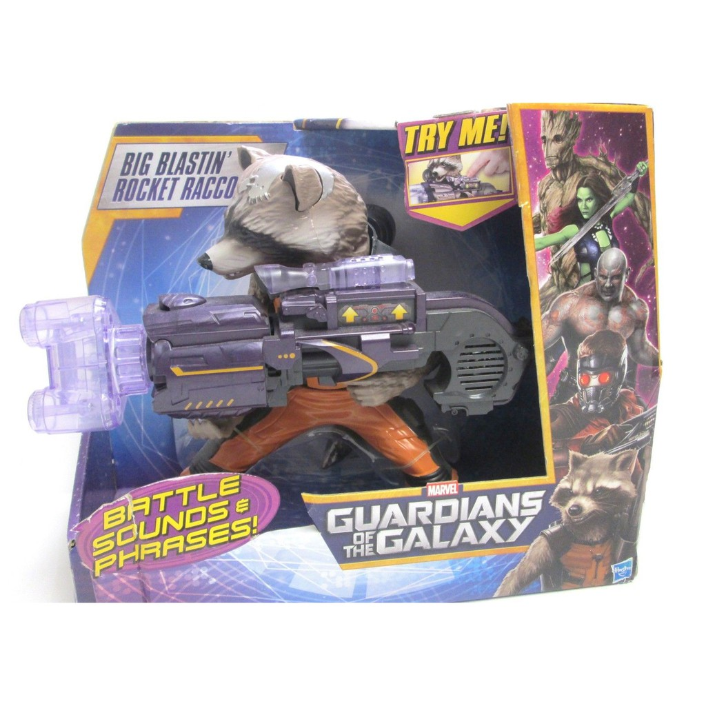 漫威 復仇者聯盟 - 星際異攻隊 火箭 Rocket Raccon 人物組