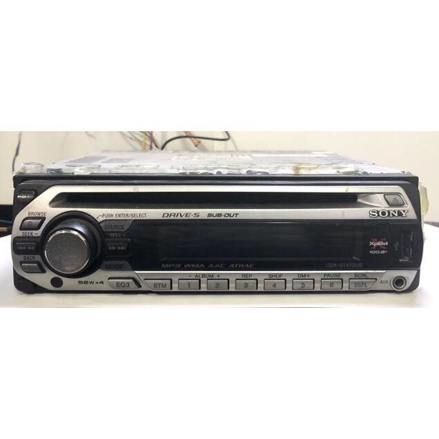 Sony汽車音響CD USB CDX-GT470US 二手