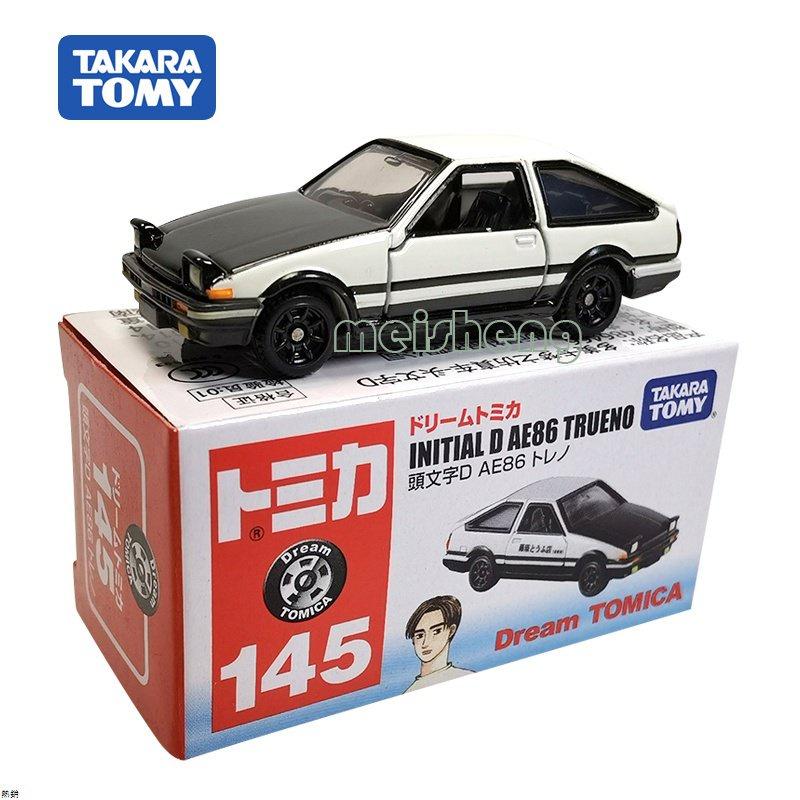 TOMY多美卡TOMICA合金小汽車模型仿真玩具145號AE86頭文字D藤原拓