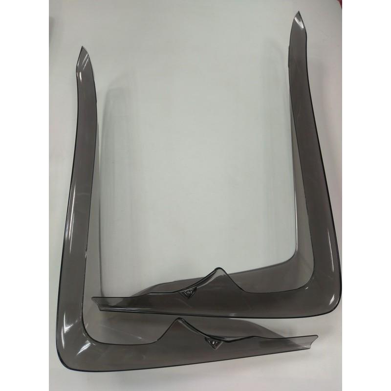 正MOTO DIY部品 SMAX S-MAX155 側導流板 前面板導流板 日式側導流 擋風板 小寬體  直上燻黑色