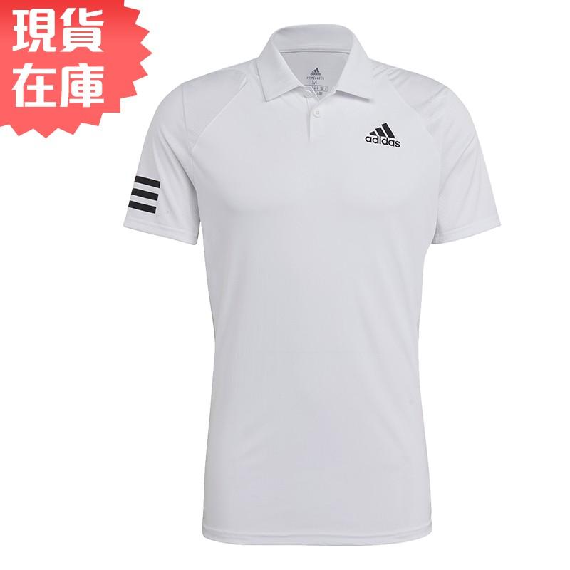 Adidas CLUB TENNIS 男裝 短袖 POLO衫 慢跑 訓練 透氣孔洞 吸濕排汗 白【運動世界】GL5416