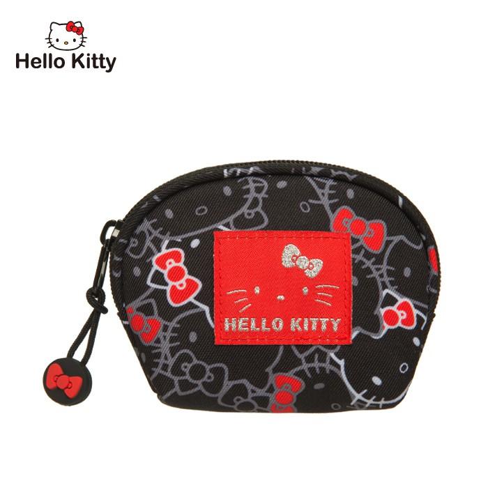Hello Kitty 繽紛凱蒂-零錢包-黑 KT01V05BK 零錢包