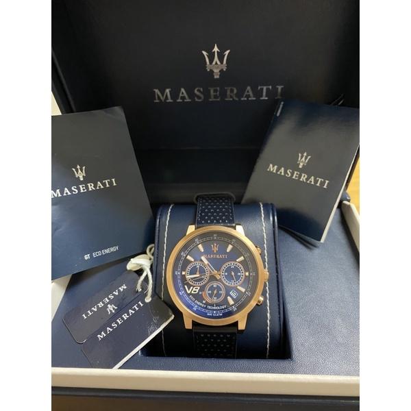 瑪莎拉蒂 MASERATI光動能手錶