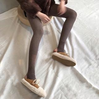 新店限量福利 kumayes連身褲打底褲內搭褲緊身褲褲襪加絨打底襪連身襪連體襪1200d簡約純色秋冬女加厚保暖灰色咖色