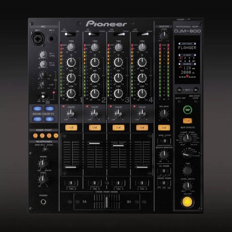 Pioneer DJM800 DJ器材 (二手、功能正常)