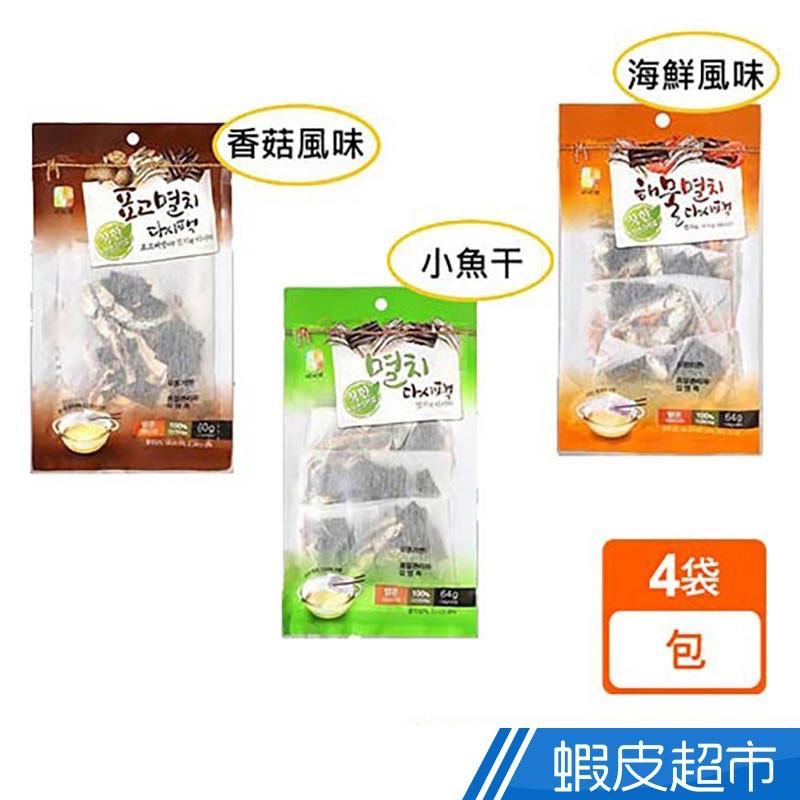 SEOKHA 風味湯包(香菇/海鮮/小魚昆布) (60g-64g) 現貨 蝦皮直送