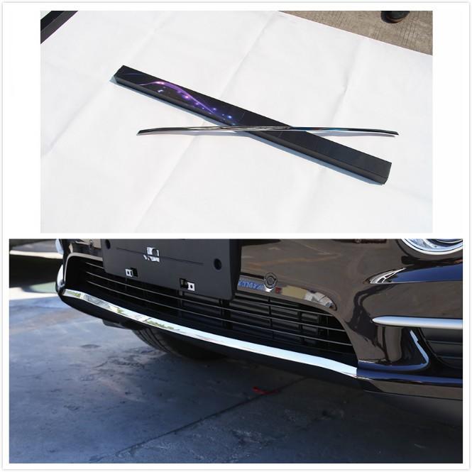 BMW 寶馬 X5 F15 前下飾條 保險桿 裝飾亮條 前導流 前保桿 外觀 空力 套件 改裝