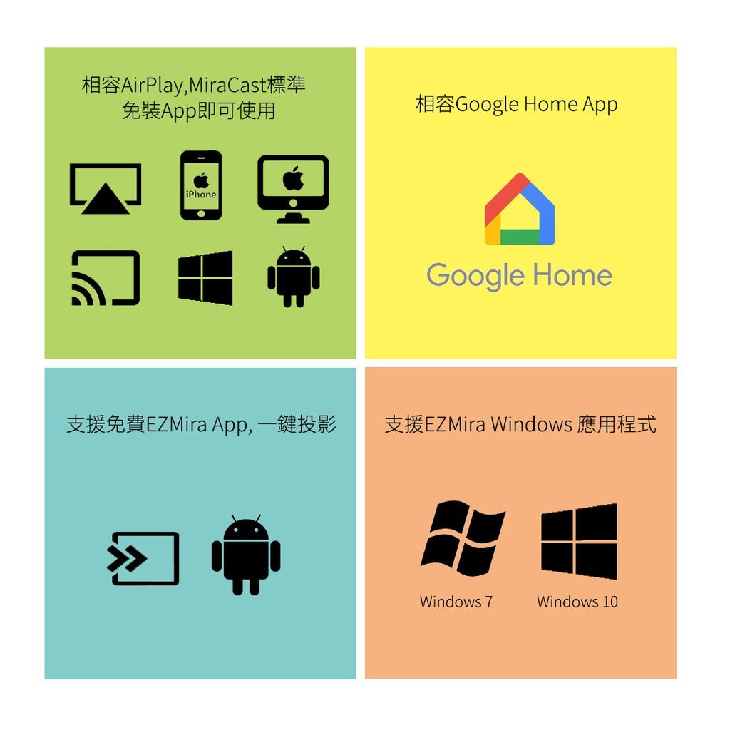 【$299免運中】AnyCast 無線投影電視棒 支援iOS12 HDMI 全高清輸出 手機無線連電視 手機連電視