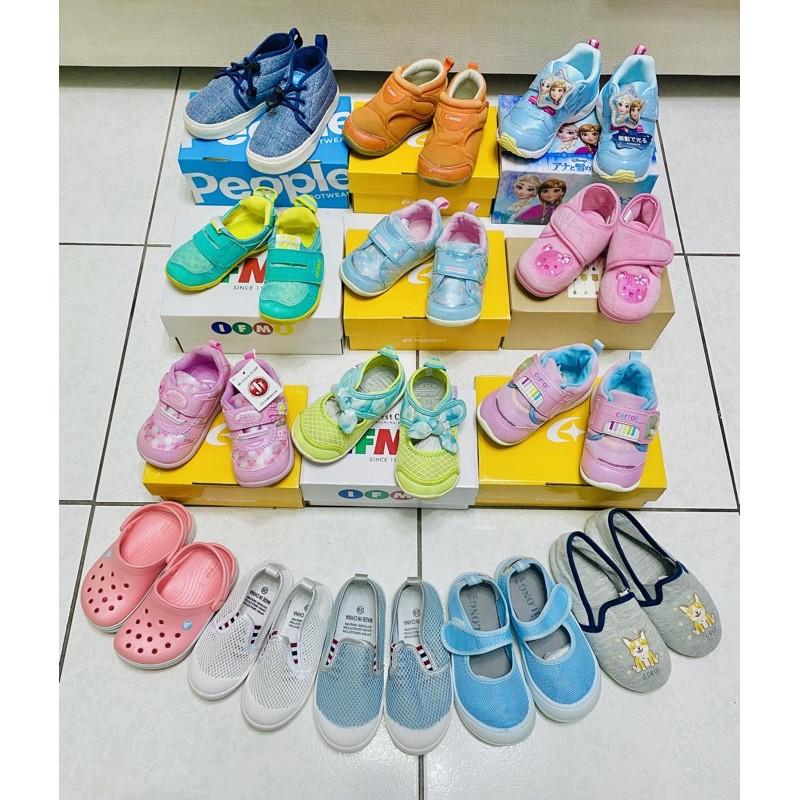 童鞋 二手 Moonstar IFME People Crocs 室內鞋 兒童涼鞋