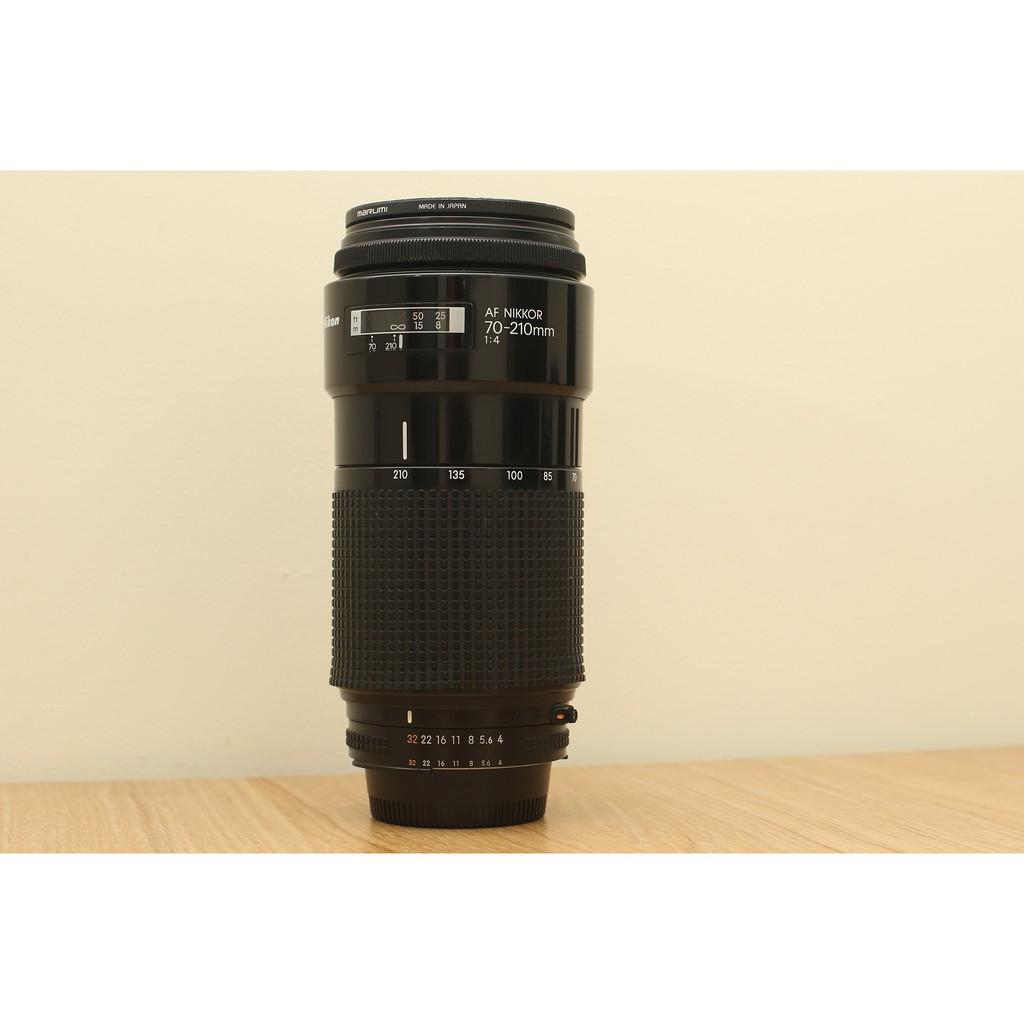 二手 老鏡 尼康 變焦長鏡頭 恆定光圈 小小黑 稀有 Nikon AF 70-210mm F4