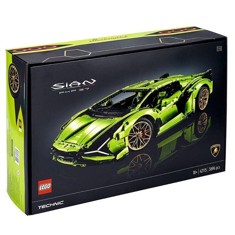 🔥現貨 🔥🔥【保稅發貨】LEGO/樂高 機械組系列 蘭博基尼跑車積木玩具 42115