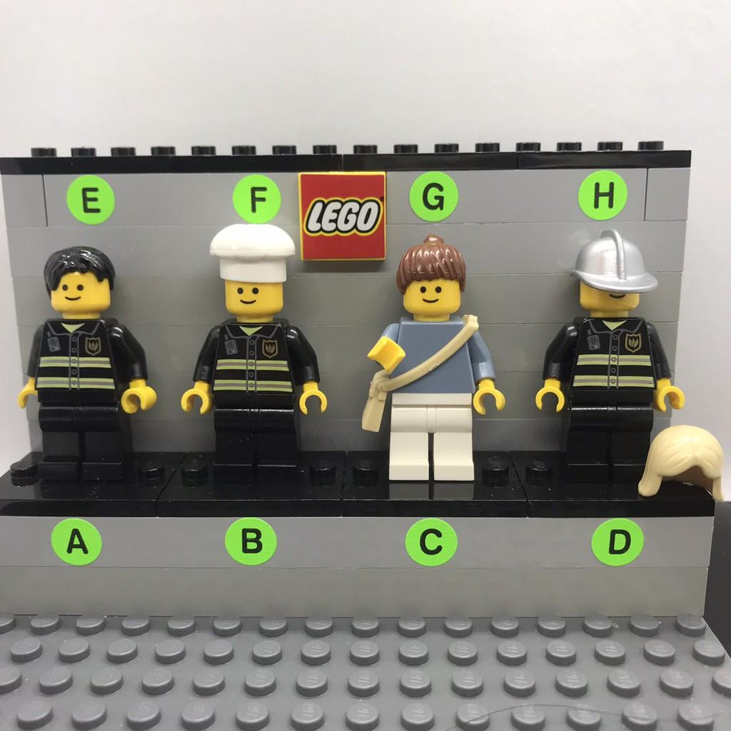 【LEGO樂高】 CREATOR街景系列人偶系列 10185-CR002