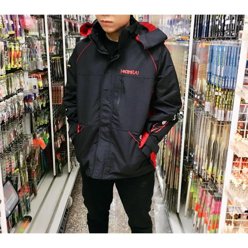 =佳樂釣具= HARiMiTSU 防寒套裝 雨衣 外套 衝鋒衣 防水透氣👍 可拆式內裏 🇹🇼製造品質保證 釣魚外套
