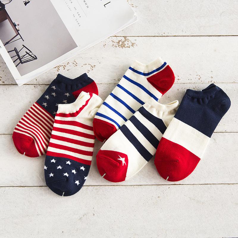 襪子 男士短襪 男士船襪 夏季薄款短筒襪 淺口吸汗低幫男襪