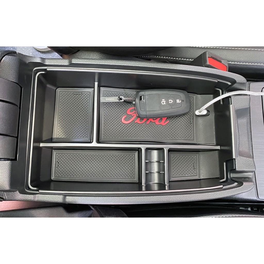 19-21後 福特 Ford Focus MK4 Kuga Mk3 中央扶手箱置物盒 中央扶手置物槽 置物盒 中央扶手