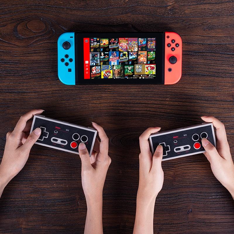 八位堂N30手柄NS版Switch Online在線會員游戲專用手柄帶連發