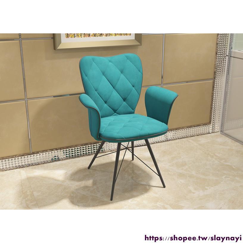 電腦椅 家用現代簡約皮藝書房辦公椅 絨布學生書桌椅 主播休閑座椅子