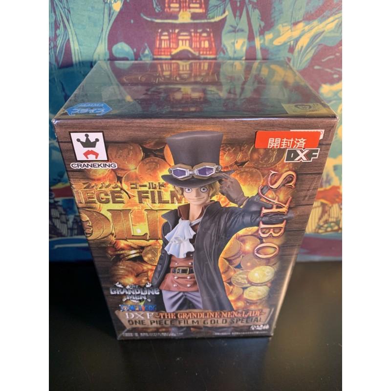 日版金證已拆有盒 海賊王航海王 薩波 黃金城 THE GRANDLINE MEN GOLDspecial 特別版 DXF