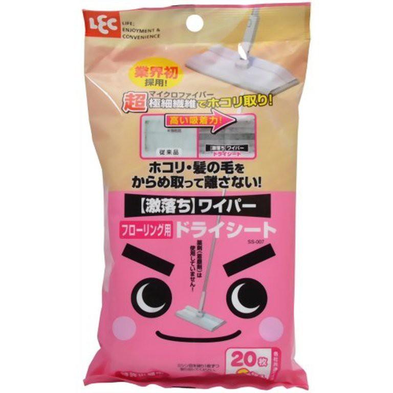 SS-007 除塵紙 23P / LEC 激落君 SS-007 除塵紙 /地板除塵紙 乾式 23P(需預購)