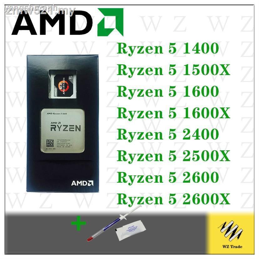 Amd Ryzen 3 1200 R5 1600 1400 1500x 1600x 2600 3.2ghz 六核 Cpu