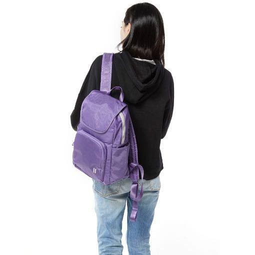 ☆SUMDEX☆人體工學設計 休閒後背包 網路最低價 樂遊遊 輕旅型 後背包 休閒 時尚 流行 簡約 630PH 紫色