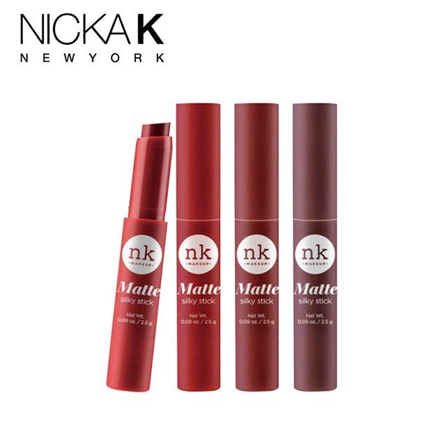 NICKA K滑順柔感系列顯色唇膏【霧感】【潤澤】
