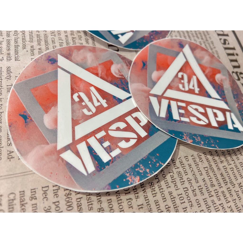 【34號倉庫】Vespa浪漫騎士 必備叁拾肆亮面防水材質 偉士牌 LX GTS 春天 衝刺 S GTV