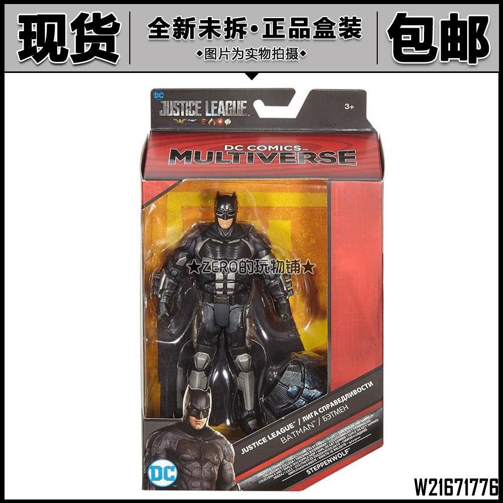 模型 DC Multiverse 電影正義聯盟 Batman蝙蝠俠戰斗服6寸可動手辦/W21671776