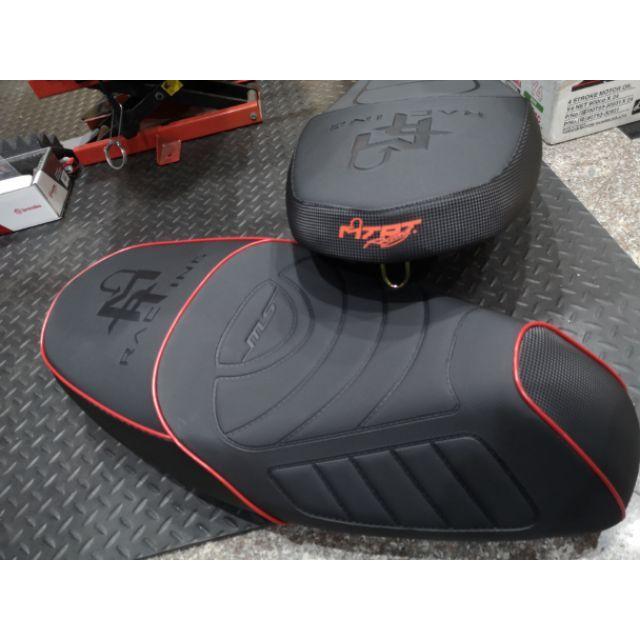 MTRT沙發坐墊/椅墊 開模件免交換 原廠型/沙發型(黑/紅) 一般皮/科技皮 Smax/Force/四五代/勁戰六代