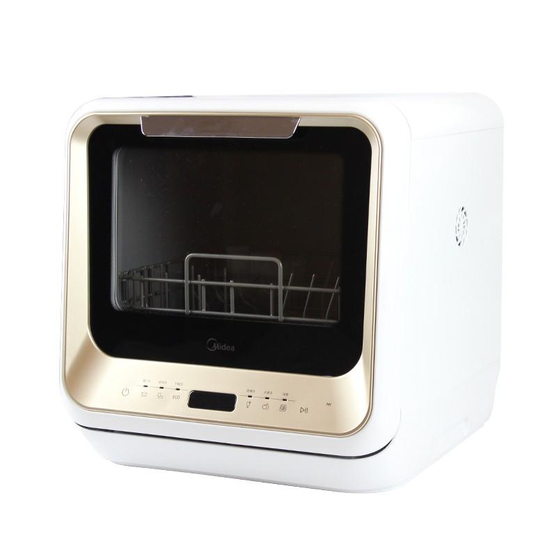 【 免運】Midea美的 M1Vle1免安裝洗碗機家用全自動臺式小型獨立式除菌