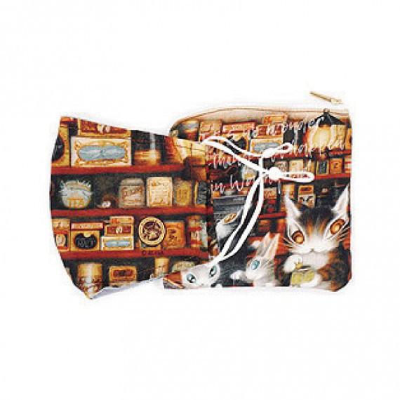 瓦奇菲爾德 WACHIFIELD 達洋貓 可水洗布口罩+收納袋組-羊媽媽雜貨店